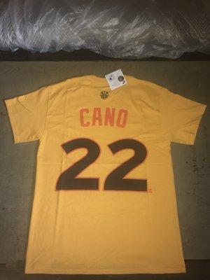 MLB Majestic 水手隊 Robinson Cano T恤 2016 明星賽 背號 偉殷 岱鋼 洋基 馬林魚 金鋒 建民 JUDGE 法官