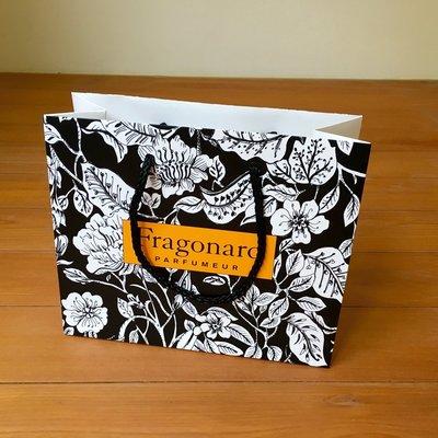 法國名牌紙袋 法國百年經典奢華品牌$188運50 Fragonard
