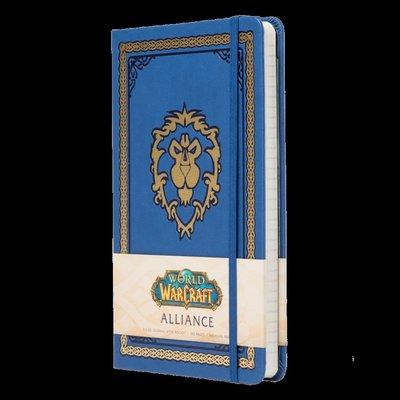 【丹】暴雪商城_World of Warcraft Hardcover Journal 魔獸世界 聯盟 部落 日記本