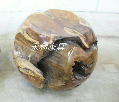 原木小圓椅 柚木椅