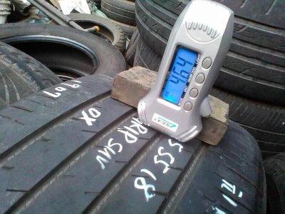 中古輪胎2019年胎深4.6mm225/55/18 固特異 Efficient Grip Suv 有2條1條1200
