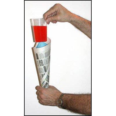 【天天魔法】【323A】喜劇透明杯(將錯就錯)(Comedy Glass In Paper Cone)(副廠)