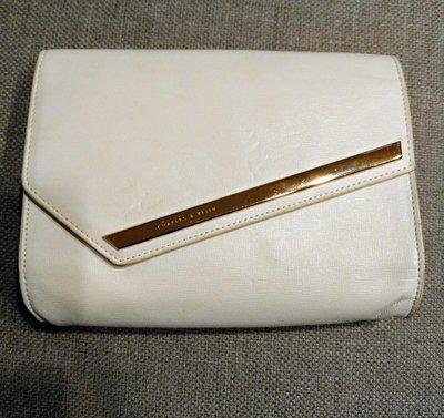 新加坡名牌小CK Charles & Keith 手拿包 晚宴包 皮包