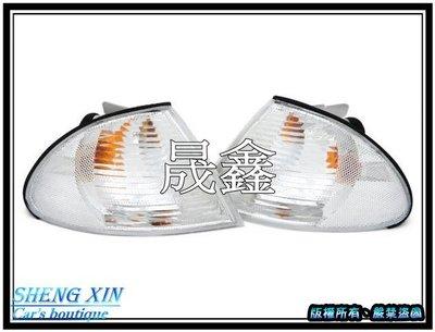 《晟鑫》全新 E46 4門 98~01年 白角燈 含燈泡 燈座 一邊價格 也有 雙光圈 魚眼 大燈款式 台南市