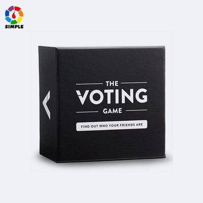 英文版 THE VOTING GAME 投票遊戲 休閒棋牌 桌遊卡牌 紙牌玩具