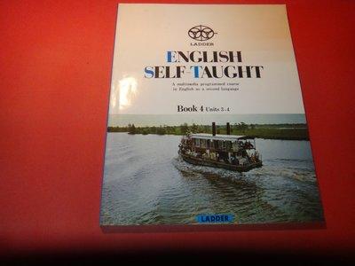 【愛悅二手書坊 11-38】ENGLISH SELF-TAUGHT BOOK 4