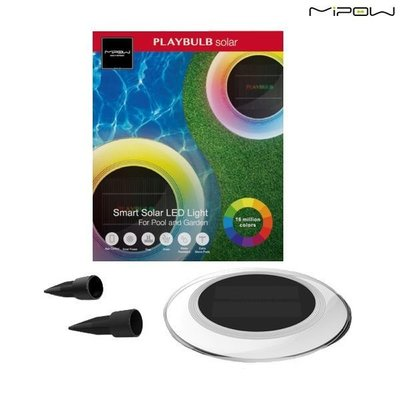 Mipow PlayBulb Solar Color Outdoor LED Light (防水,LED燈,太陽能)