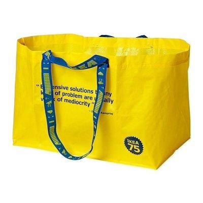 IKEA 75 誕生週年 ! 復刻限量 ! 環保購物袋 ! 完全絕版品 !