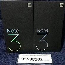 Mi Note 3, 6+64G Black Xiaomi Global Version
