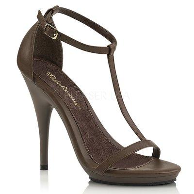 Shoes InStyle《五吋》美國品牌 FABULICIOUS 原廠正品高跟涼鞋 有大尺碼 出清『咖啡色』