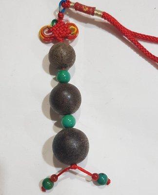 越南高級沉香木吊飾(連中三元)