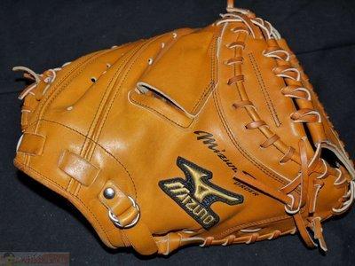 貳拾肆棒球-日本帶回Mizuno pro訂做硬式火鳥金標日本製棒球捕手手套