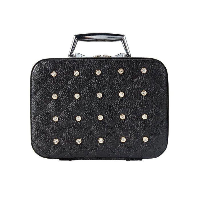創意 便攜 大容量韓國化妝包小號便攜旅行大容量化妝箱可愛網紅ins簡約收納化妝盒