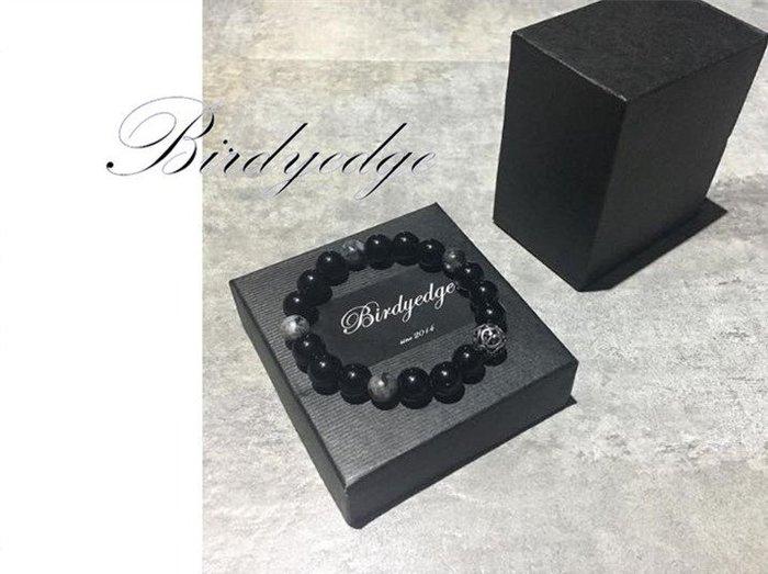 【Birdy Edge】經卓 用心 台灣品牌 工業 麻腦 天然混珠 大銀珠 設計  手飾 手環 手鐲 免運費