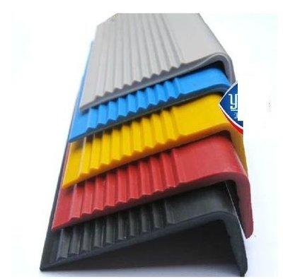 【樓梯防滑條-3-4mmPVC-L型2*5cm-以米計價-10米/組】老人院 幼兒院 樓梯踏步板收邊條壓條-56043