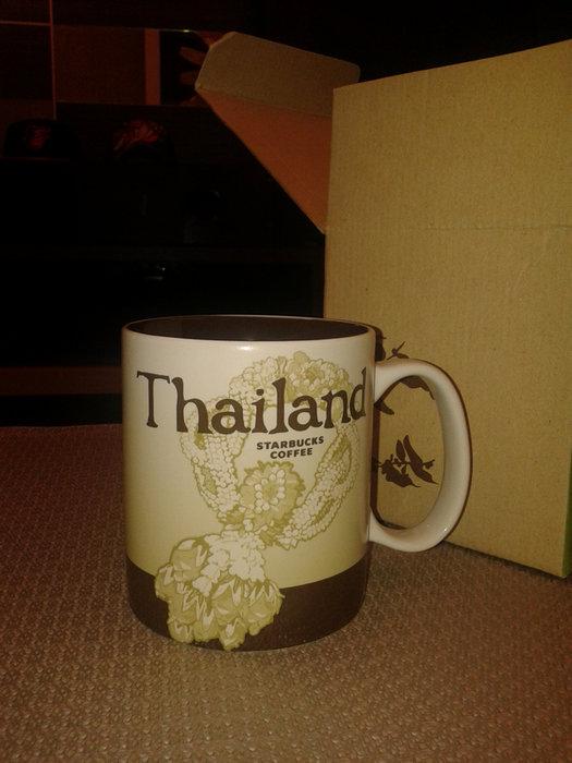 STARBUCKS星巴克城市馬克杯-泰國 Thailand...16OZ. 1000下標就賣
