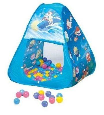 【魔法世界】【CHING-CHING親親】三角帳篷+100球(彩盒裝) (CBH-01)【保證原廠公司貨】