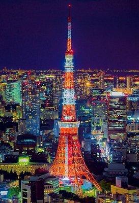 日本進口拼圖專賣店_300片拼圖 風景 東京鐵塔 日本 93-151