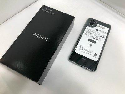2019年夏季 Sharp docomo Aquos R3 sh04L 黒色 sim free 中文界面対応 855cpu 6+128