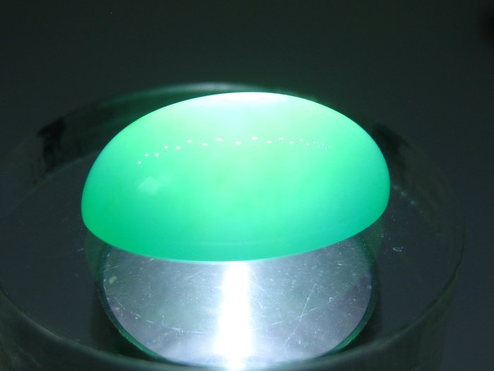 【Texture & Nobleness 低調與奢華】天然無處理 稀有罕見 綠色蛋白石(綠色歐泊) - 8.716克拉
