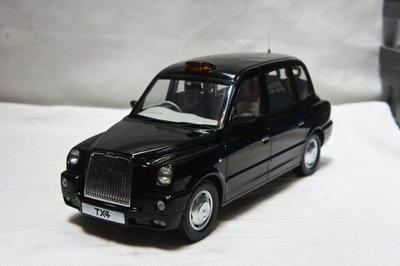 【現貨特價】1:18 SunStar TX4 London Taxi Cab 2007 倫敦計程車