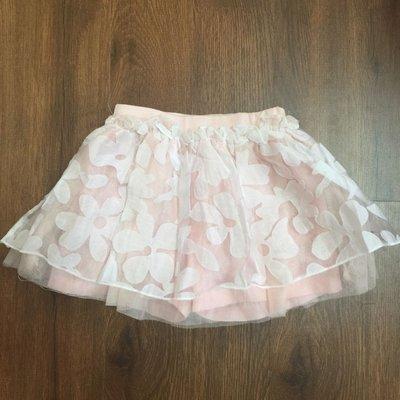 Bear house 內短褲樣式 花朵圖案蕾絲短裙