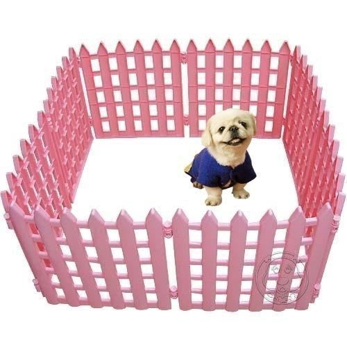 【??培菓寵物48H出貨??】寵物塑膠圍欄高43公分*10片 特價745元/組送玩具