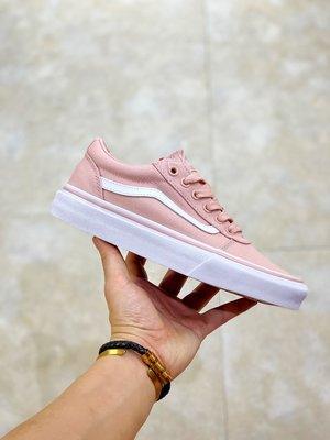 秋冬上新 Vans 範斯 運動休閑系列 Ward粉色汽帆布鞋 板鞋 女鞋 男鞋 情侶款