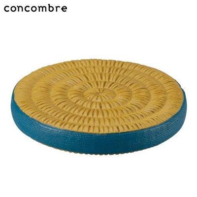 《散步生活雜貨-鄉村散步》日本進口 DECOLE-concombre 圓形榻榻米坐墊 擺飾 ZCB-13330