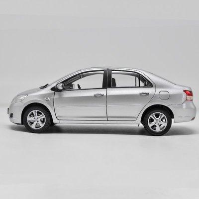 【小易百貨】車型模具 車模型 玩具  免運1:18 一汽豐田 威馳 新威新品馳 TOYOTA VIOS 合金汽車模型 特價車模