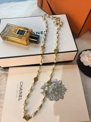 Box room 名品二手 / Chanel 真品 超美 vintage 珍珠  項鍊