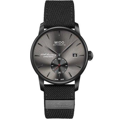 MIDO美度 Baroncelli 百年紀念2118 限量機械錶(灰/38mm) M86083189 限量款特價一只