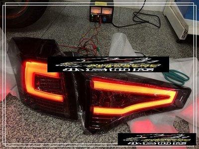 (小鳥的店)豐田 13-15年 RAV-4 四代 MK4 台製 環狀 LED 光條 尾燈 後燈 toyota