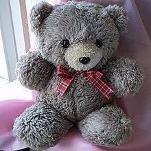 38CM   自製HANDMADE   泰廸熊Bearbear熊  中毛絨布  布藝手工藝DIY材料包  生日禮物