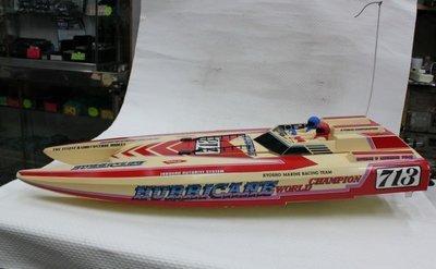 【統一模型】遙控電動船《KYOSHO_HURRICANE雙馬逹-高速賽船》原價$8000  *特價$6400*