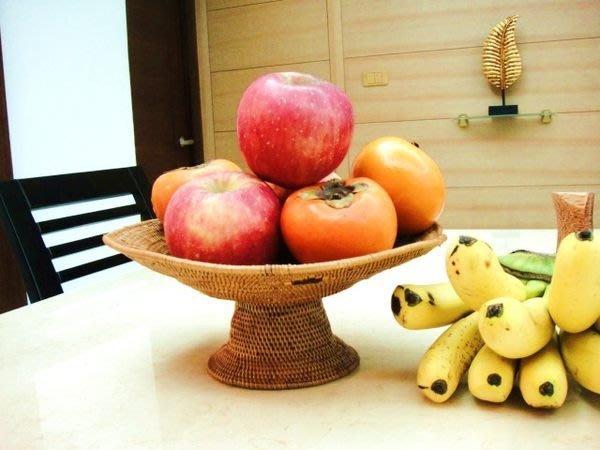 Y【永晴峇里島】巴里島藤編造型花器/花籃,水果盤,居家,民宿,飯店都好用-水果盤5
