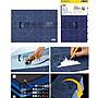【傑美屋-縫紉之家】日本工具#OLFA#摺疊切割墊A3#藍色攜帶超方便