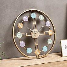 〖洋碼頭〗北歐藝術掛鐘客廳個性創意鐘錶家用時尚裝飾時鐘輕奢藝術靜音掛表 xtm207