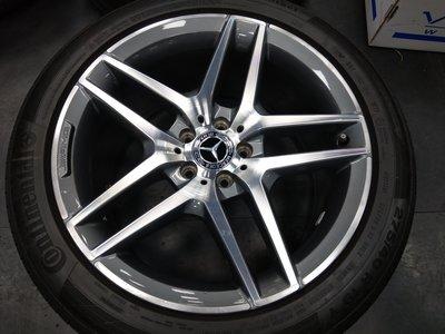 W222 S400 AMG 19吋 鋁圈 輪胎二手極新 售58000