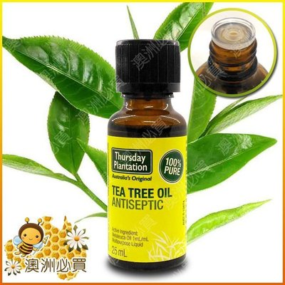 【澳洲必買】Thursday Plantation 星期四農莊 Tea Tree Oil 100%純茶樹精油25ml