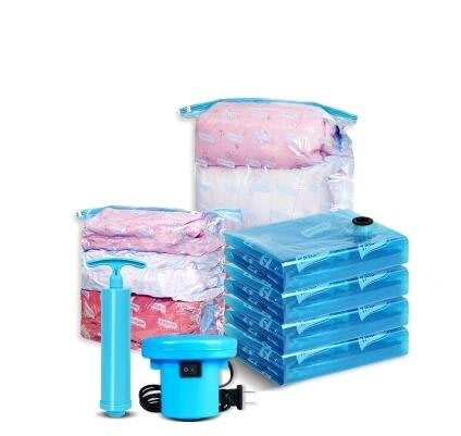 太力真空壓縮袋正品立體真空套裝送電泵棉被子收納袋