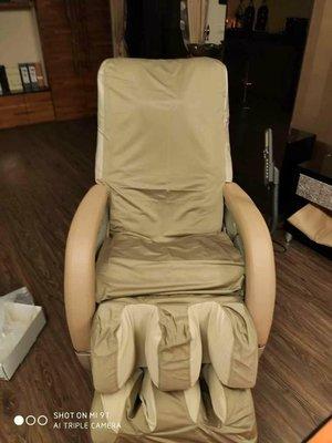 按摩椅布套按摩椅椅套含左右扶手有卡其色與黑色布料