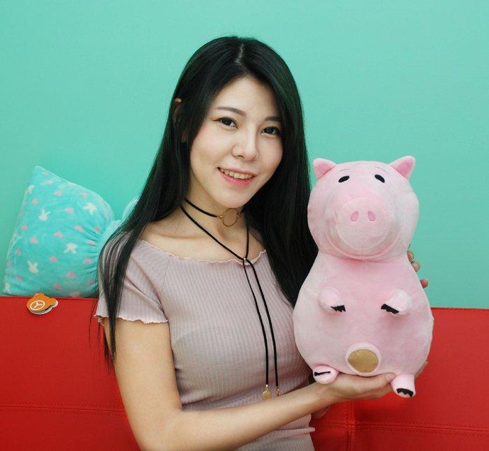 拉拉小站~正版迪士尼~玩具總動員~火腿豬娃娃~生日情人節禮物
