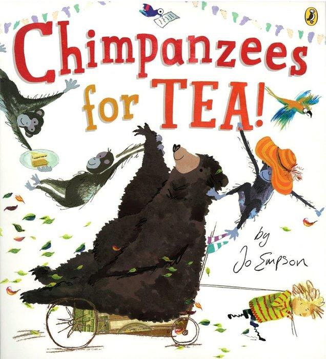 *小貝比的家*CHIMPANZEES FOR TEA/平裝/3~6歲/幽默/李貞慧-PART2.xis