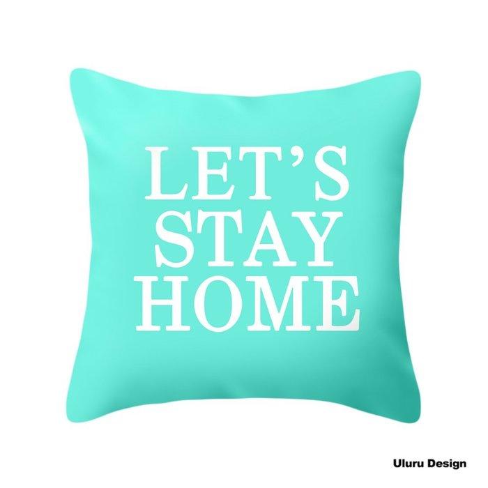 歐美風格 Green 薄荷綠 抱枕 枕套/枕芯 Uluru Design 客廳 Loft工業風 鄉村風 居家裝飾
