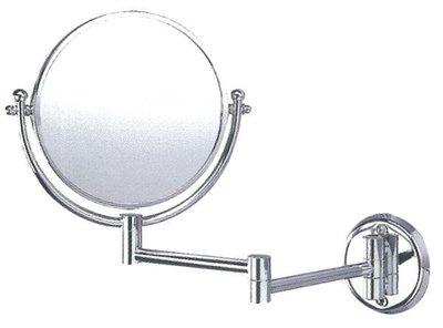 華冠伸縮活動兩用鏡/ 放大鏡 PB-609 另詢圓形化妝鏡 附玻璃平台 HM-875 PB-630 強化玻璃角落架 置物架 台中市