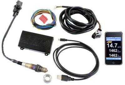 =1號倉庫= AEM Wideband Air/Fuel Gauge X-WiFi 廣域 空燃比錶 無線監控 數位式