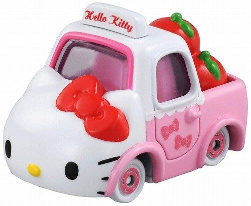 ..☆.。.【TOMIKA】日本限量☆.。NO.152 Kitty NEW 蘋果小貨車..☆.。.