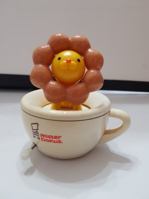 統一 多拿滋 Mister Donut 波堤獅 旋轉杯 (全新商品) - 高9.5 寬9 cm - 301元起標