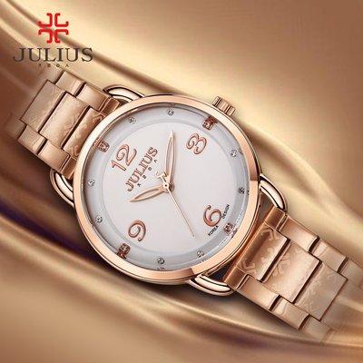 史萊姆美女~聚利時女手錶時尚潮流簡約鋼帶手錶女錶女士手錶正品防水石英錶